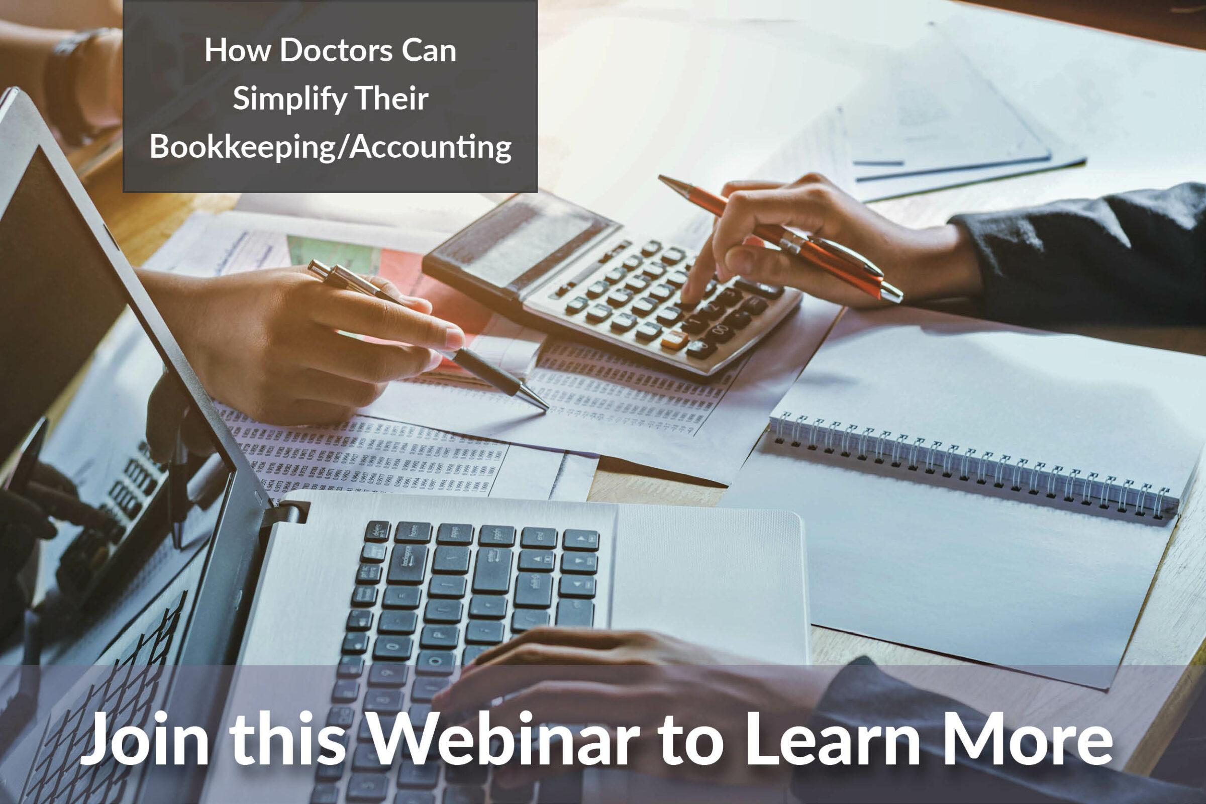 PECAA Webinar - Accounting for Doctors